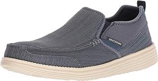 Skechers Chaussures bateau Status-Delton pour homme