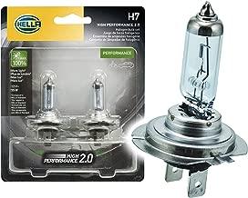 HELLA 2.0TB HP2.0-55W High Performance H7 Bulbs, 12V, 55W, 2 Pack