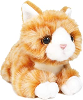 VIAHART Orville The Orange Tabby Cat | 8 Inch Stuffed Animal Plush | by Tiger Tale Toys