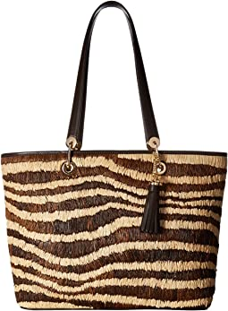 Malibu Large East/West Top Zip Tote
