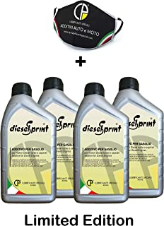 DieselSprint 4 LITERS (4 Flaschen von 1000 ml) multifunktionale Additiv für Diesel motoren