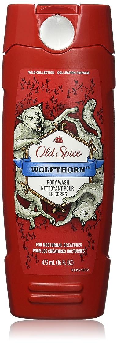 動物園期限切れサンプルOld Spice ボディウォッシュ - ワイルドコレクション - Wolfthorn - 16液量オンス - 2パック