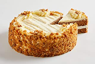 Bake Me A Wish Carrot Cake – Spice Cake w/Carrots, Raisins, Walnuts & Cream Cheese Frosting