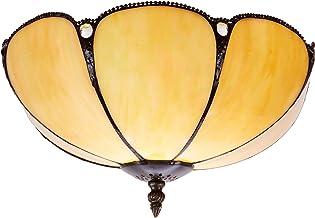Ivintage Virginia plafondlamp, ivoor, 30 x 25 cm
