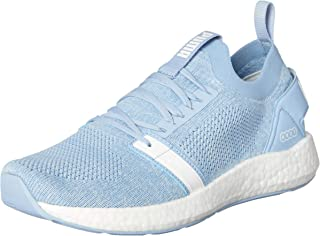 PUMA Women's Nrgy Neko Engineer Knit WNS Shoes, Cerulean White