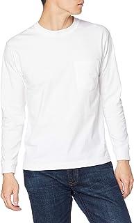 [ヘインズ] ロングTシャツ 綿100% ロングスリーブポケットTシャツ ビーフィー H5196 メンズ