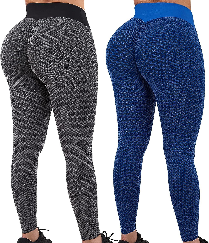 Fengbay 2 Pack TIK Finally resale start Ranking TOP3 Tok Leggings for Lifting Butt Women