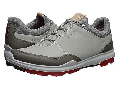 ECCO Golf Biom Hybrid 3 GTX (Concrete/Scarlet) Men