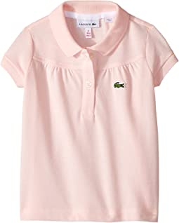 Lacoste Kids - Pique Polo with Gathers (Toddler/Little Kids/Big Kids)