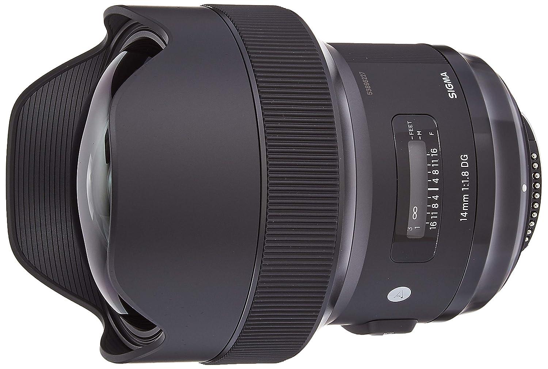 Sigma 14mm F/1.8 Art DG HSM Lens (for Nikon Cameras)