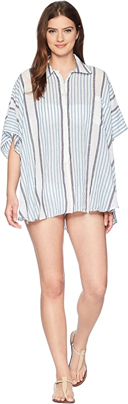 Vince Camuto My Boyfriend's Beach Button Up