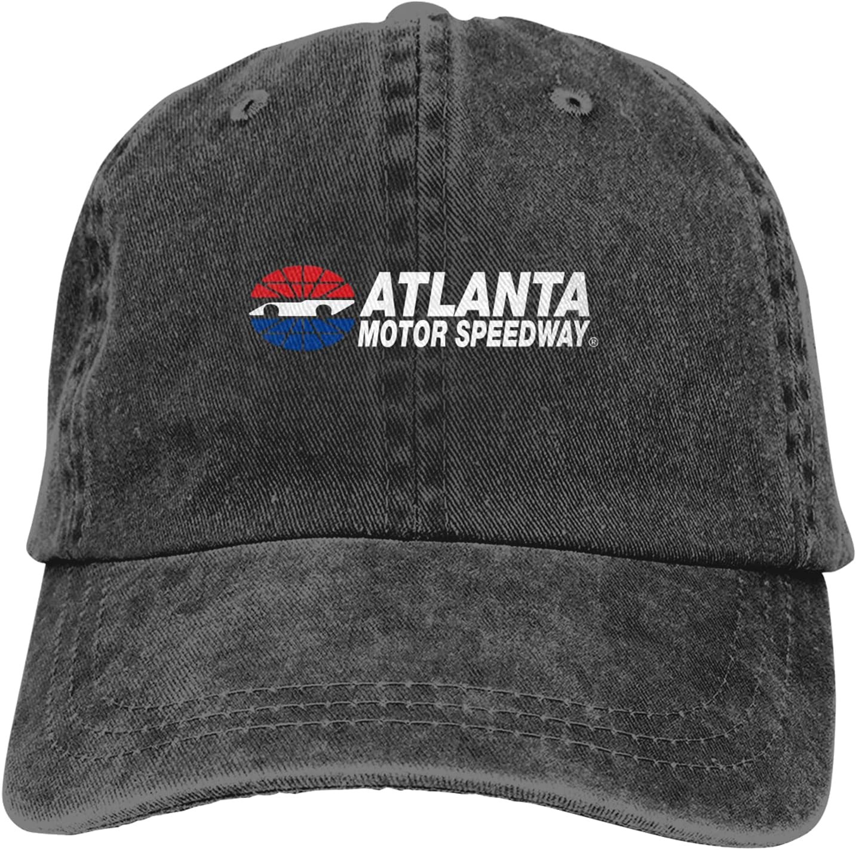 RSVPhandcrafted Atlanta Motor Speedway Denim Cap Adjustable Athletic Baseball Cowboy Hat Plain Beach Sun Hat