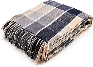 Best cotton plaid blanket Reviews