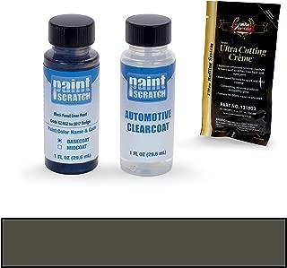 PAINTSCRATCH Black Forest Green Pearl GZ/KGZ for 2017 Dodge Ram Series - Touch Up Paint Bottle Kit - Original Factory OEM Automotive Paint - Color Match Guaranteed