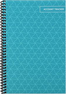 """The Superior Check and Debit Card Register - Teal 5.5"""" x 8.5"""""""