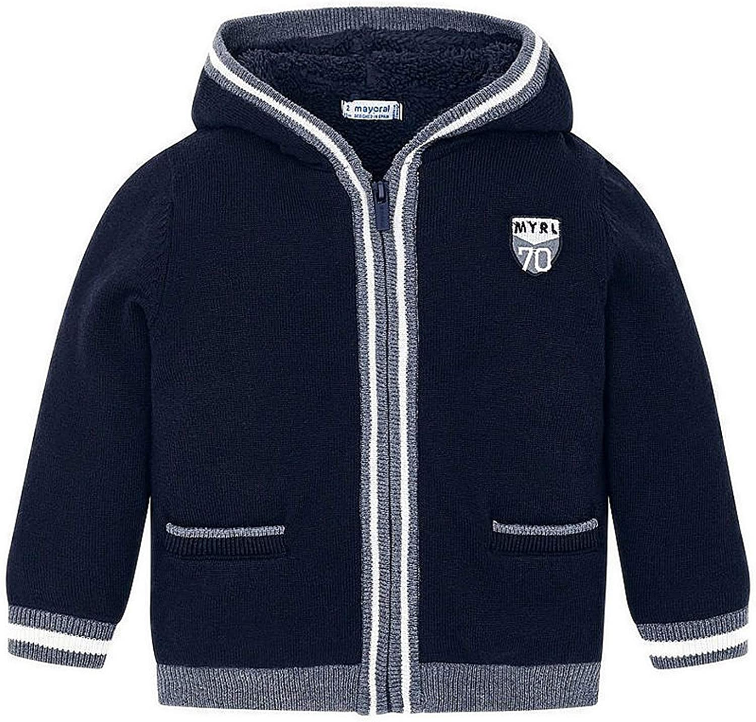 Mayoral - Knit Pullover for Boys - 4323, Navy