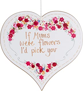 Hanging Heart Plaque in a