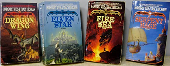 The Death Gate Cycle Starter Set (Volumes 1-4) Dragon Wing, Elven Star, Fire Sea, & Serpent Mage