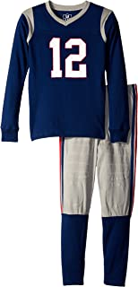 wes and willy football pajamas