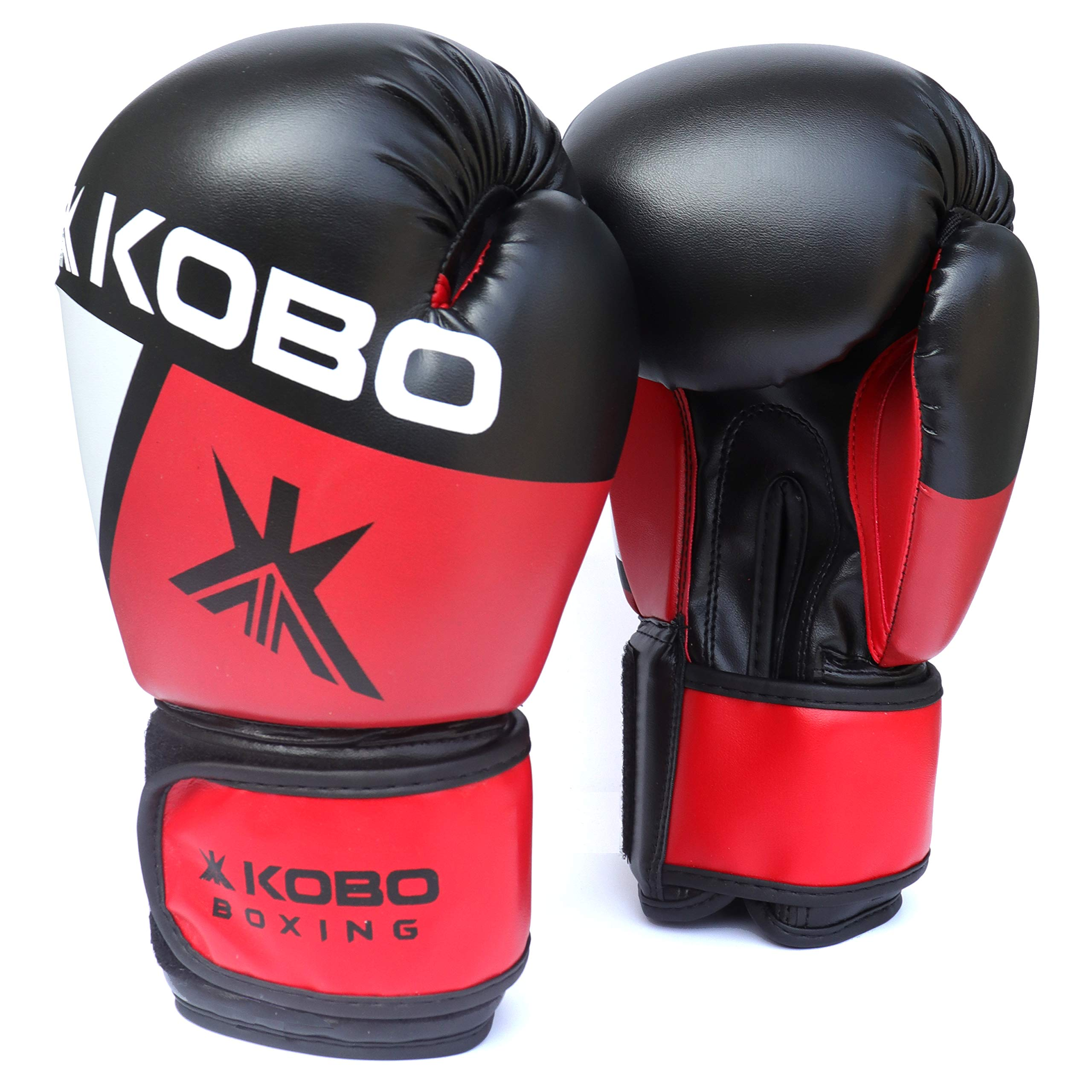 1 Pair Professional Adult Boxing Gloves Sparring Glove Punch Bag Training Mitts