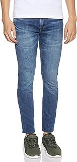 Calvin Klein Jeans Men's CKJ 058 SLIM TAPER Denim Pants, Blue (Ba037 Blue 1BJ), Size: L34/W33