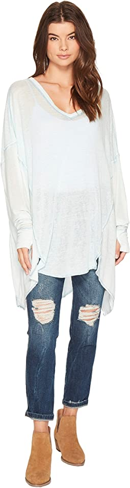 Free People - Never Give Up Tee