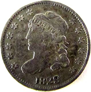 1829 bust dime