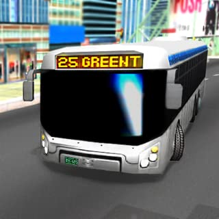City Bus Transporter - Public Transport Bus Drive