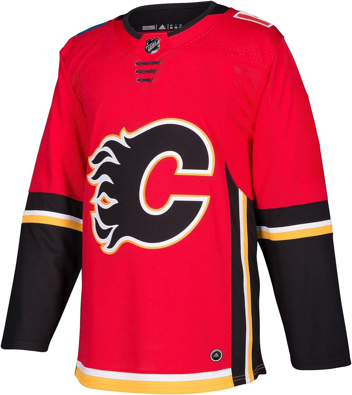 Calgary Flames Adidas NHL Men's Climalite Authentic Team Hockey Jersey