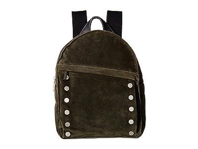 Hammitt Shane Large (Eucalyptus Suede/Graphite/Brushed Silver) Handbags