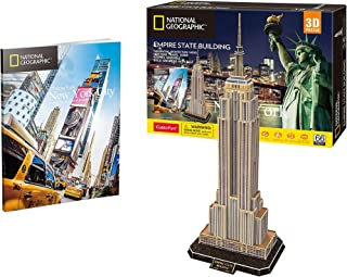 Cubic Fun empire State Building Shaped 3D Puzzle - 66 Pieces