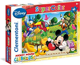 CLEMENTONI - PUZZLES 60 MICKEY MOUSE CLUB HOUSE