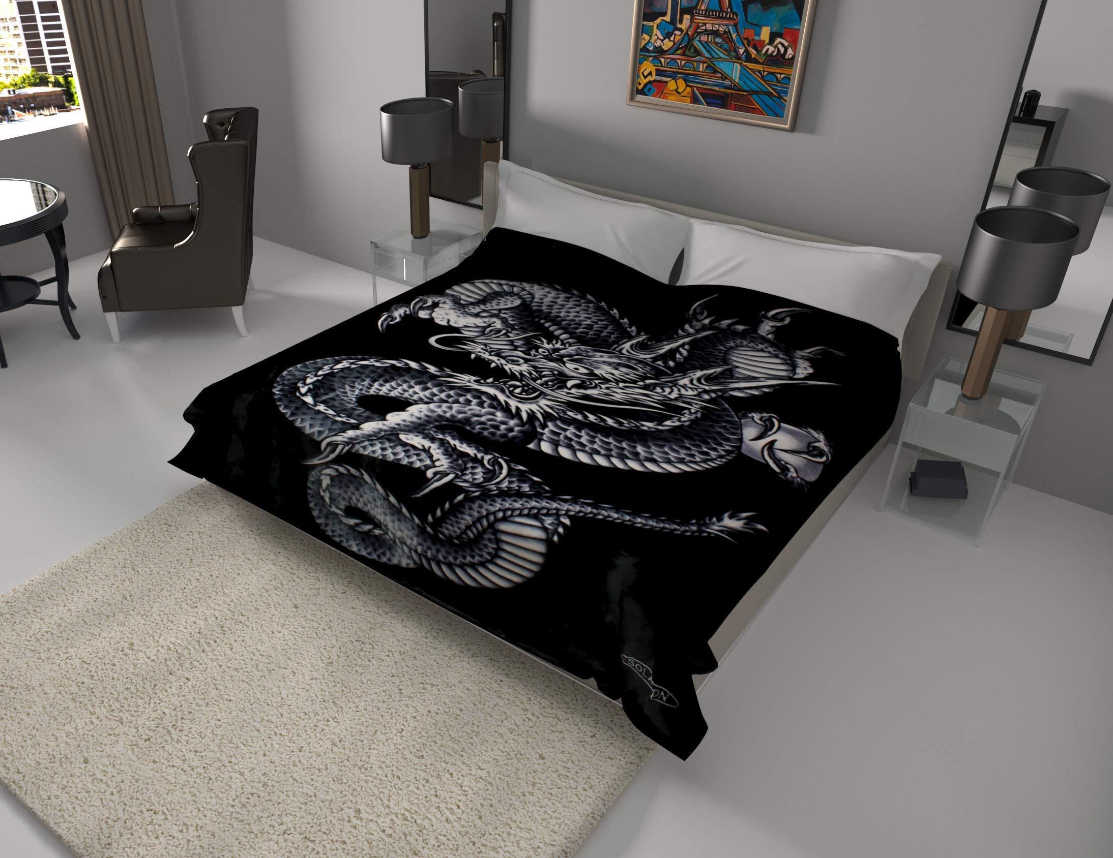Korean Solaron Quality Blanket Dragon