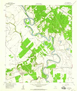 YellowMaps Clay TX topo map, 1:24000 Scale, 7.5 X 7.5 Minute, Historical, 1959, Updated 1960, 26.9 x 23 in