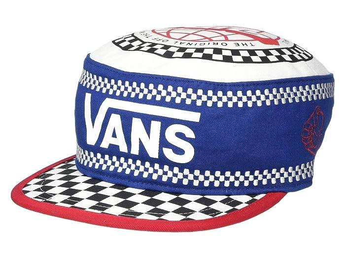Men's Vintage Style Hats, Retro Hats Vans BMX Hat True Navy Caps $30.00 AT vintagedancer.com