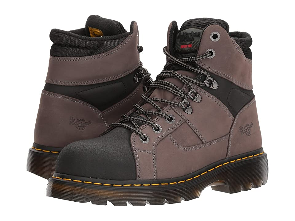 Dr. Martens Ironbridge Tectuff Steel Toe (Grey/Black) Work Boots