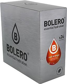 comprar comparacion Bolero Bebida Instantánea sin Azúcar, Sabor Naranja Roja - Paquete de 24 x 9 gr - Total: 216 gr