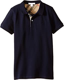 ff23470c8 Burberry kids mini short sleeve ppm polo shirt little kids big kids ...