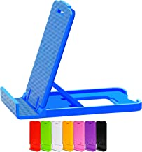Honsky Cell Phone Stands, Tablet Stands, Mobile Phone Holders, Cellphone Stand, for Desk Desktop – Universal, Multi-angle Adjustable Foldable Plastic, Pack of 8, Bundles (Multi-Color)