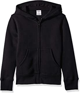 Girls' Fleece Zip-up Hoodie