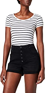 Only womens ONLHUSH LIFE HW BUTTON Shorts