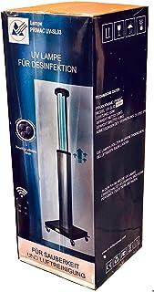 Zeer sterke 150W UV C desinfectielamp met ozon, met afstandsbediening en bewegingssensor, luchtreiniger, tegen virussen, b...