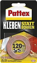 Pattex Lijmen in plaats van boren, extra sterk dubbelzijdig plakband, dubbel plakband voor montagewerkzaamheden binnen en ...
