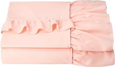 (ベルーナ)BELLUNA お買得! フリル付カバーリングシリーズ ピンク 掛布団カバー シングル