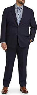 Cole Haan Plaid Suit Jacket, Navy