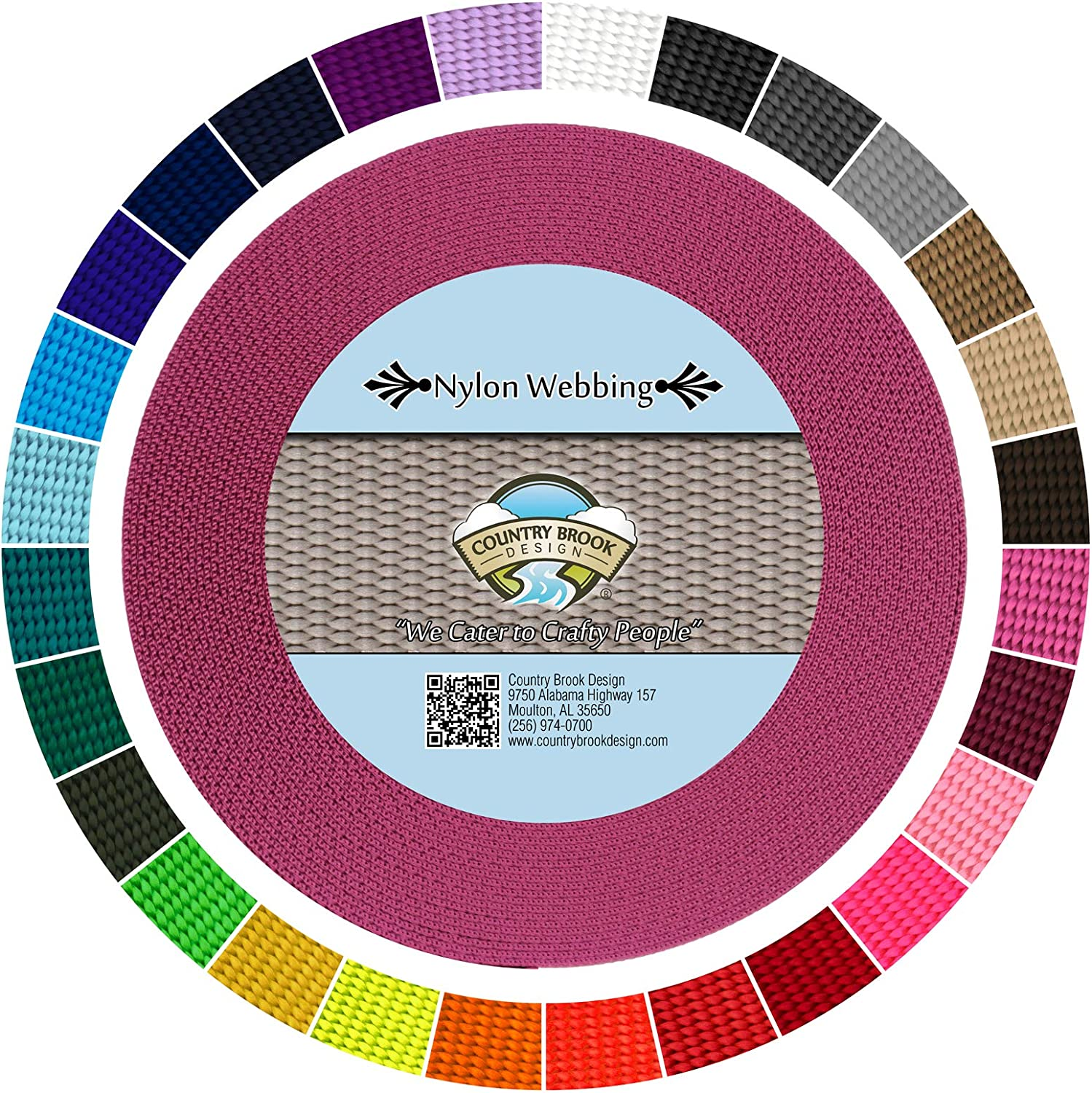 Country Large special price Brook Design - 3 Heavy 4 Inch Weekly update Nylon Webbing