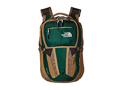 The North Face Recon (Night Green/British Khaki) Backpack Bags