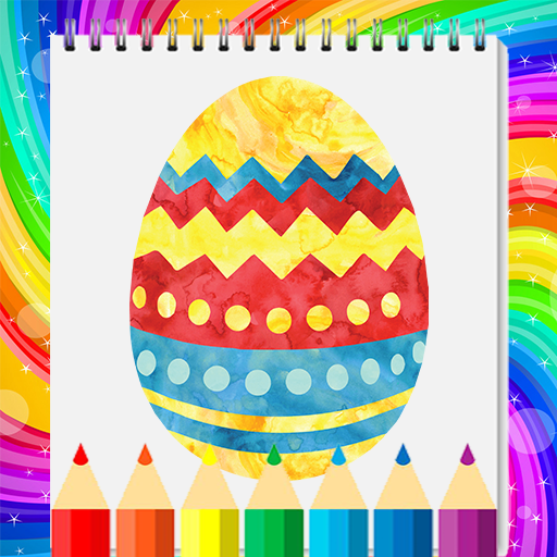 Easter Eggs Coloring Book 2020