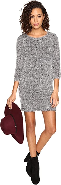 Laurentia Eyelash Sweater Dress