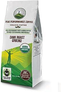 Peak Performance High Altitude Organic Coffee. High Performance Body and Mind Coffee for High Performance Individuals. Fai...